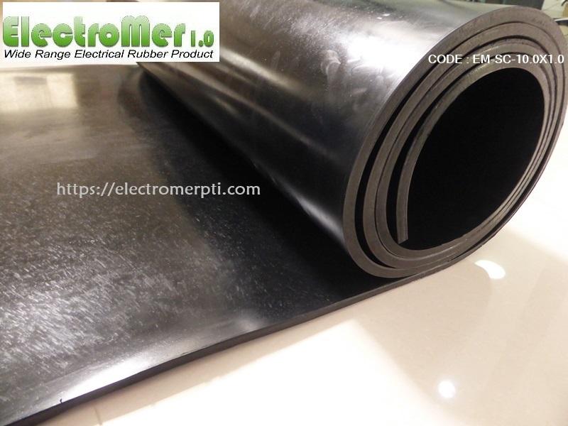 แผ่นยางกึ่งนำไฟฟ้าความหนา 10 mm EM-SC-10.0X1.0.JPG
