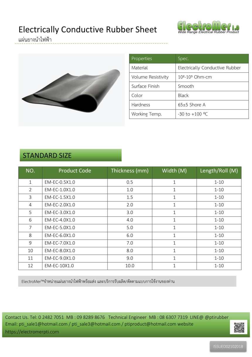 Electrically Conductive Rubber Sheet แผ่นยางนำไฟฟ้า-1.jpg