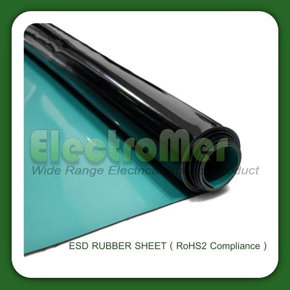 ผลิตและจำหน่ายแผ่นยางกันไฟฟ้าสถิตESD